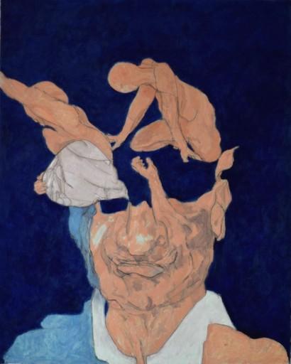 H. SCHLAGEN - Painting - Wasser, 2017