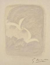 Georges BRAQUE - Estampe-Multiple - Descente aux enfers planche 1