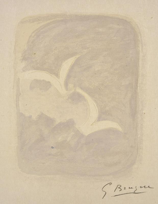 Georges BRAQUE - Print-Multiple - Descente aux enfers planche 1