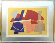 Alberto MAGNELLI - Estampe-Multiple - Composition