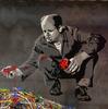 MR BRAINWASH - Gemälde - Jackson Pollock (on Steel Panel)