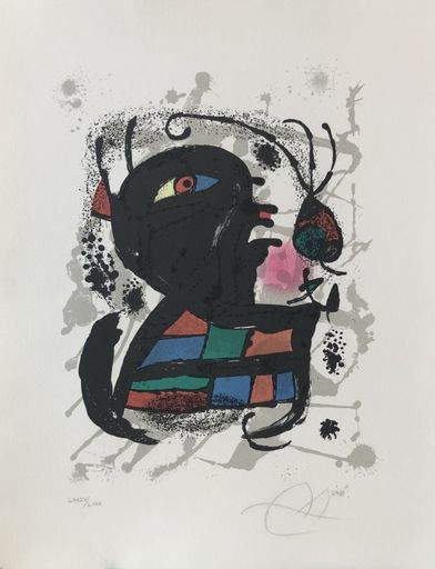 Joan MIRO - Print-Multiple - Lithographe III Planche 6