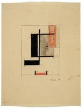 让·艾利翁 - 水彩作品 - Orthogonales