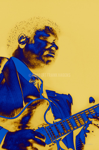 Robbert Frank HAGENS - Photography - The King of the Blues - BB King 1986 / 2021