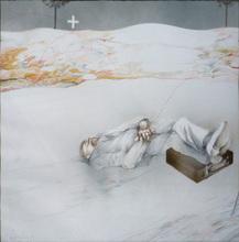 Carlos ALONSO - Disegno Acquarello - Fine dell'autunno