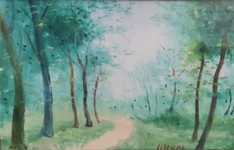 Umberto LILLONI - 绘画 - Meriggio