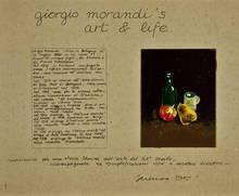 SARENCO - Drawing-Watercolor - Giorgio Morandi's Arte & Life