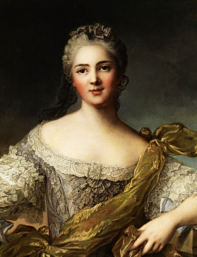 Jean-Marc NATTIER - Painting - portrait de Victoire de France