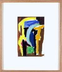 Aurélie NEMOURS - Drawing-Watercolor - F44