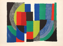 Sonia DELAUNAY-TERK (1885-1979) - PATCHWORK COMPOSITION