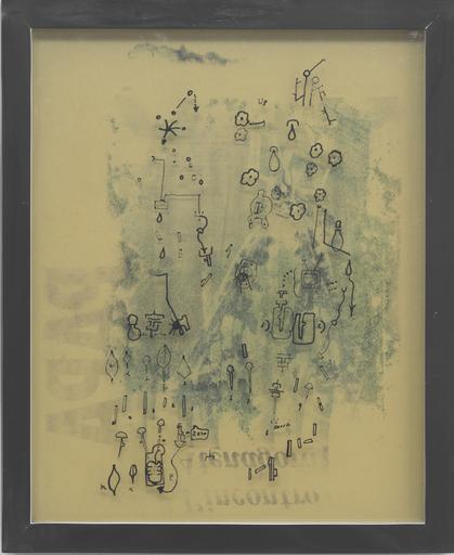 Gianfranco BARUCHELLO - Painting - Border side