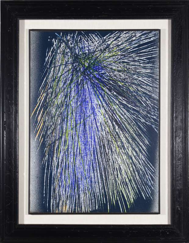 Hans HARTUNG - Painting -  T1963-K34