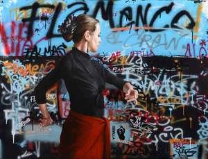 Sylvain LANG - Pintura - Flamenco