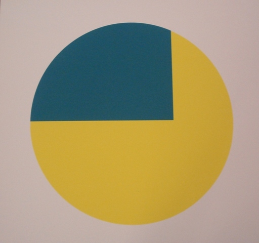 Leon Polk SMITH - Grabado - Orange-Grün Mediumcolor