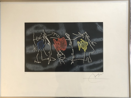 Joan MIRO - Print-Multiple - Nocturn Catalae