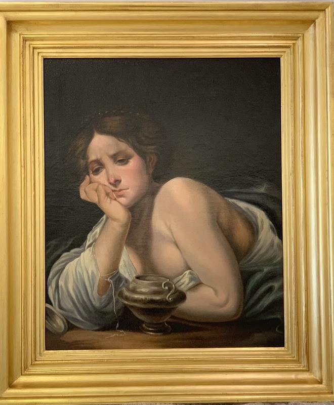 Guido Canlassi CAGNACCI - Pintura - Magdalena