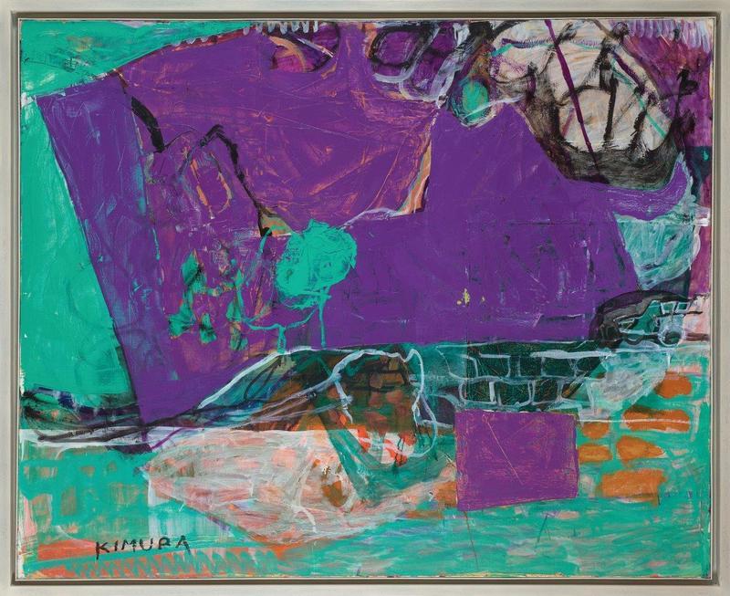 Chuta KIMURA - Painting - Cabris