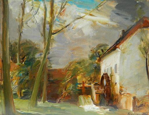 Ferdinand PIRE - Painting - PAYSAGE