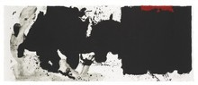 Robert MOTHERWELL - Estampe-Multiple - Black With No Way Out