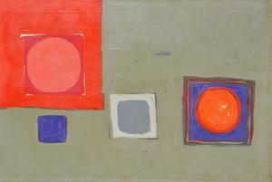 Patrick HERON - Painting - Sept 1960