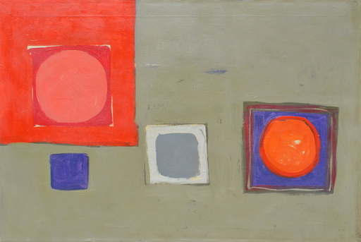 Patrick HERON - Painting - Sept 1960