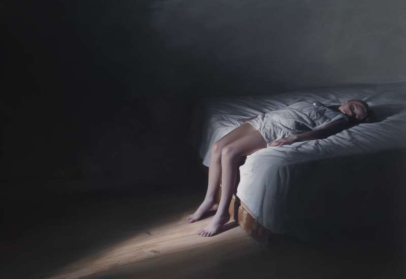 Gottfried HELNWEIN - Peinture - The Murmur of the Innocents 61