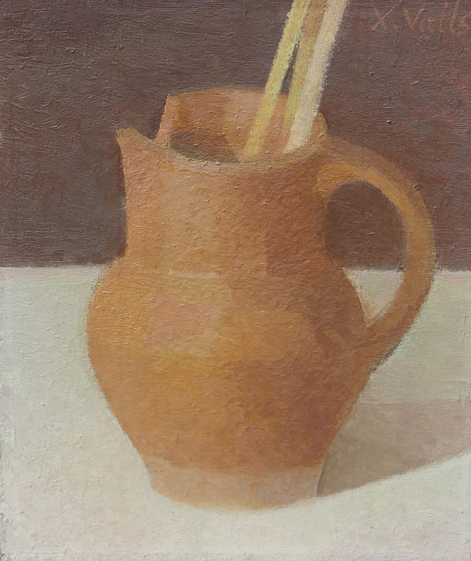 Xavier VALLS - Painting - Le pichet