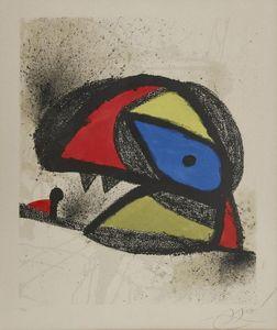 Joan MIRO - Druckgrafik-Multiple - Homenatge A J. Torres Clavé