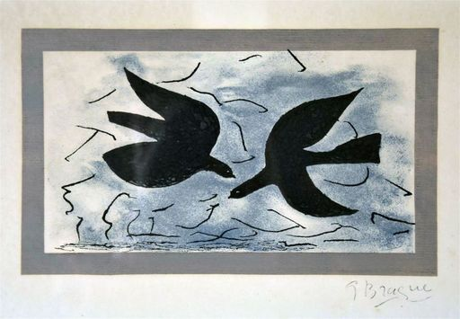 Georges BRAQUE - Estampe-Multiple - Sans titre
