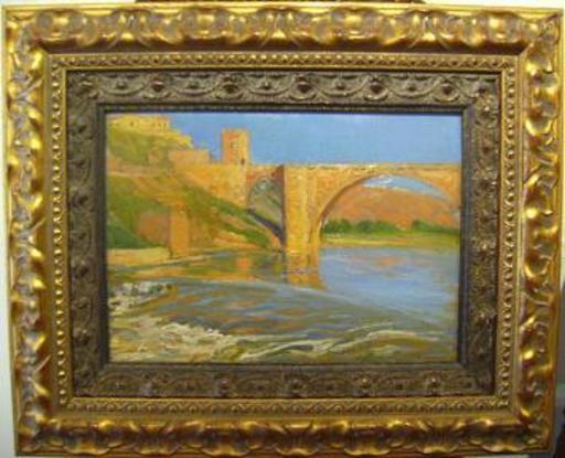Luis HUIDOBRO LAPLANA - Pintura - Toledo Puente Alcántara