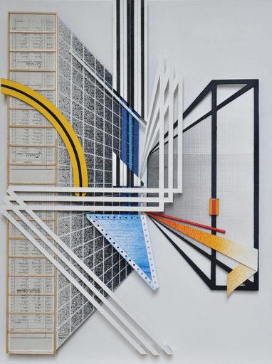 GILBERT1 - Gemälde - Assemblage #1
