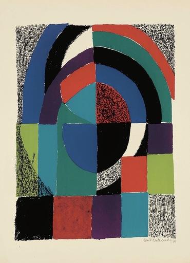 Sonia DELAUNAY-TERK - Print-Multiple - Cathedrale
