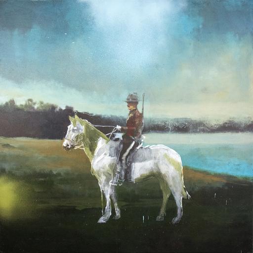 Peter HOFFER - Pittura - Mountie III