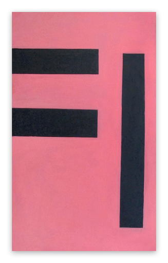 Daniel GÖTTIN - Painting - Untitled 2 (Pink), 1992