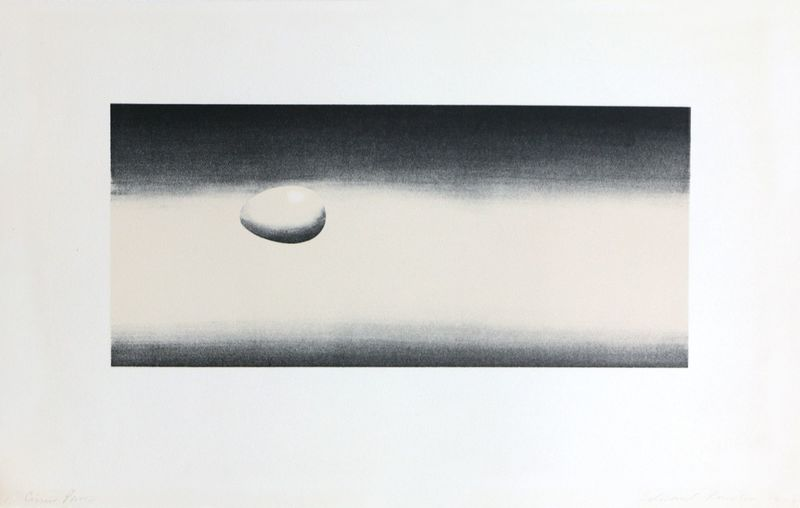 Ed RUSCHA - Stampa-Multiplo - Domestic Tranquility: Egg
