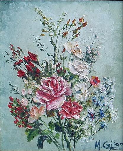 Maria CAGIAO - Pittura - flores