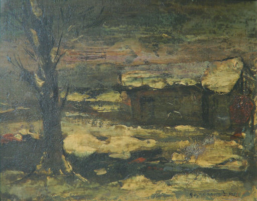 Guy CAMBIER - 绘画 - PAYSAGE - LANDSCAPE