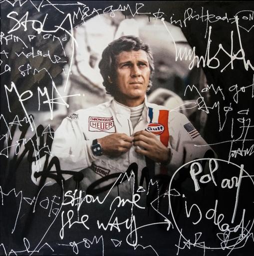 KOKIAN - Peinture - Steve McQueen Le Mans