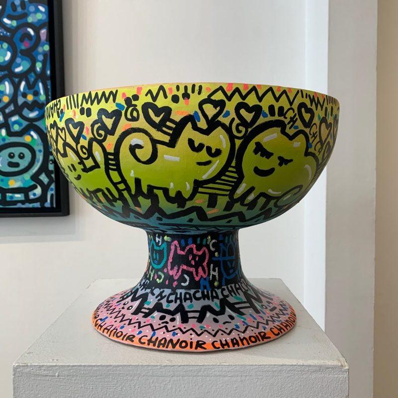 CHANOIR - Ceramic - Vase Cérémoniel Précolombien