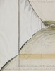 CHRISTO - Drawing-Watercolor - Running Fence (Project for Sonoma County and Marin County, S