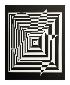 Victor VASARELY - Print-Multiple - Yablapour II