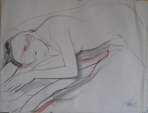 Dessin crayon fusain pastel sign main handsigned drawing - Main dessin crayon ...