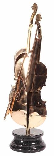 阿尔曼 - 雕塑 - Violon Pizzaiola