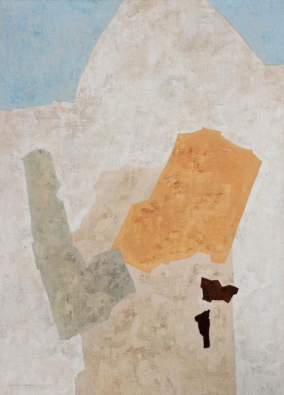 Giovanni GORINI - Peinture - ANGOLI BLU