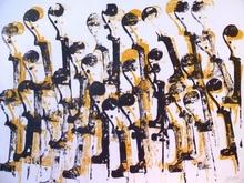 Fernandez ARMAN - Radierung Multiple - Têtes de violon