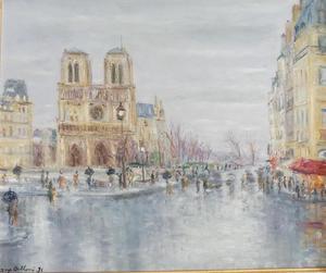 Serge BELLONI - Pintura - Paris