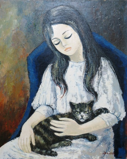LILIANA - Painting - *My Cat