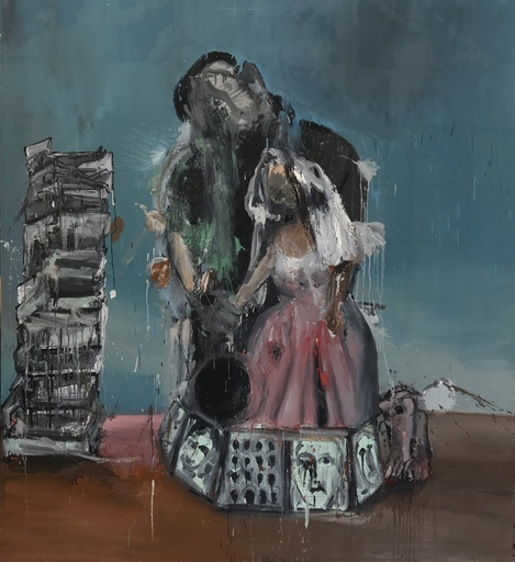 LI Yawei - Pittura - Desperate Wedding