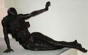 Salvador DALI - Sculpture-Volume - Le cabinet anthropomorphique