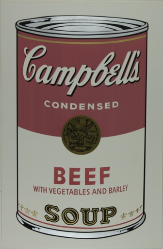 Andy WARHOL - Print-Multiple - Campbell's Soup I, Beef F&S II.49